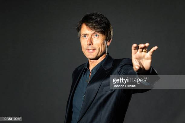 English singersongwriter best known as the lead vocalist of the band Suede Brett Anderson attends a photocall during the annual Edinburgh...