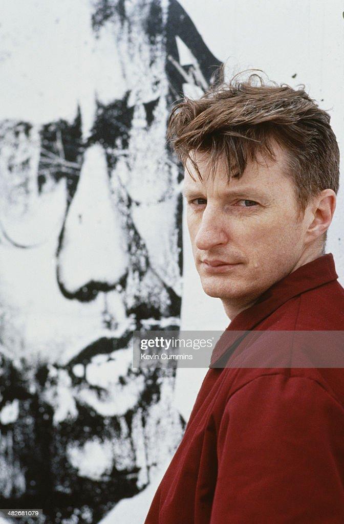 English singer-songwriter Billy Bragg, circa 1990.