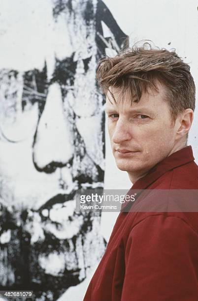 English singersongwriter Billy Bragg circa 1990