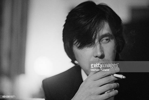 English singersongwriter Bryan Ferry of English rock group Roxy Music 10th January 1974