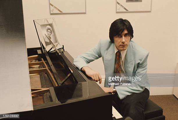 English singersongwriter Bryan Ferry of Roxy Music at his home in London 10th January 1974