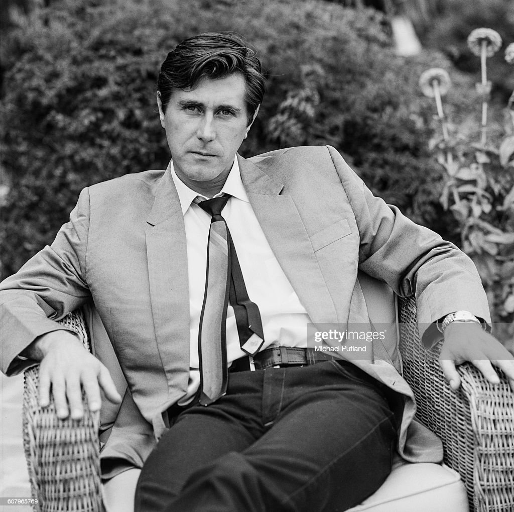 English singer-songwriter Bryan Ferry of Roxy Music, Los Angeles, California, October 1977.