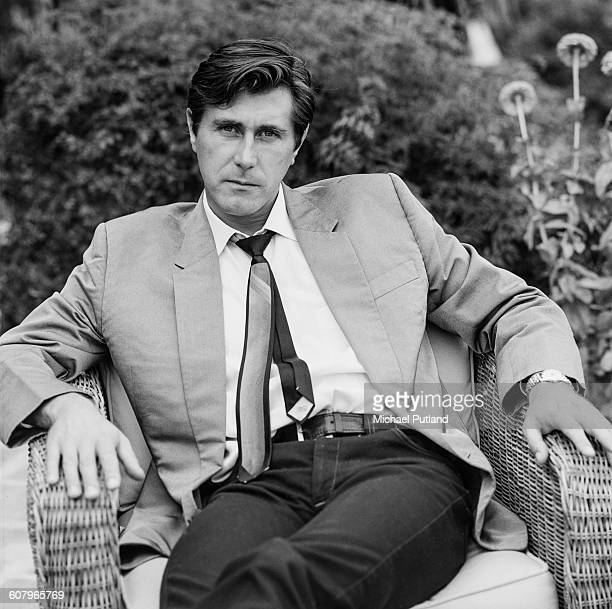 English singersongwriter Bryan Ferry of Roxy Music Los Angeles California October 1977