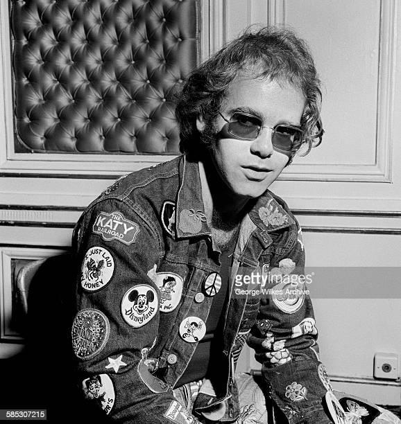 English singer-songwriter, composer and pianist Sir Elton John.