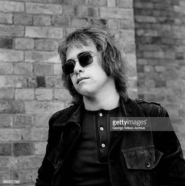 English singersongwriter composer and pianist Sir Elton John