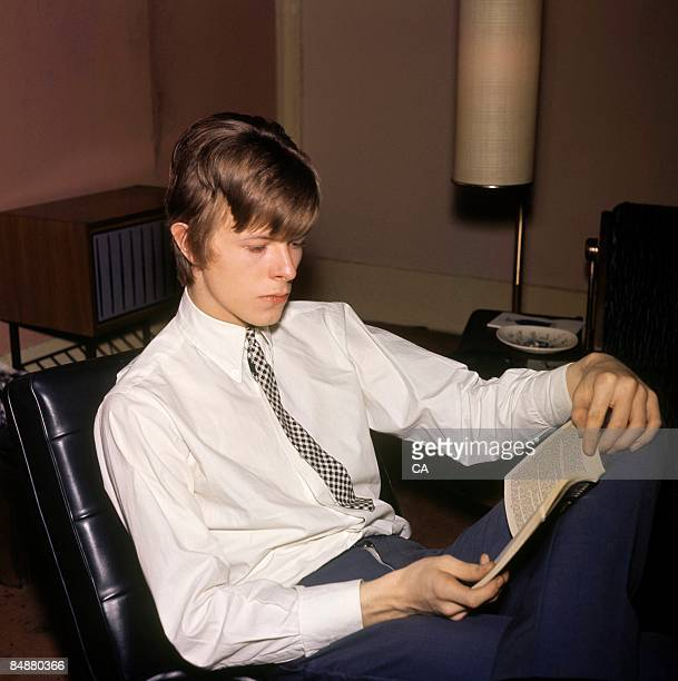 English singer-songwriter, David Bowie , circa 1966, when he went by the stage name of Davy Jones.