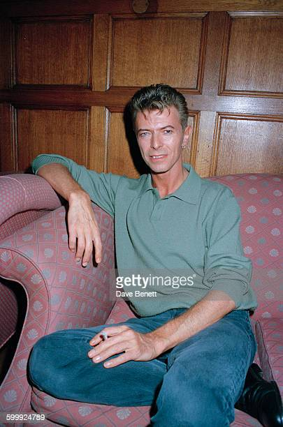 English singer-songwriter David Bowie , London, 12th November 1997.