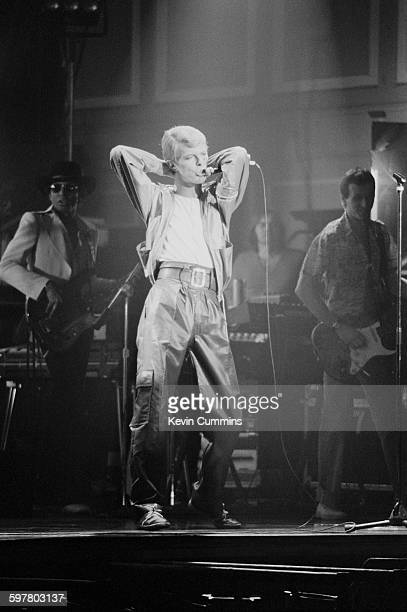 English singersongwriter David Bowie performing at Newcastle City Hall 15th June 1978