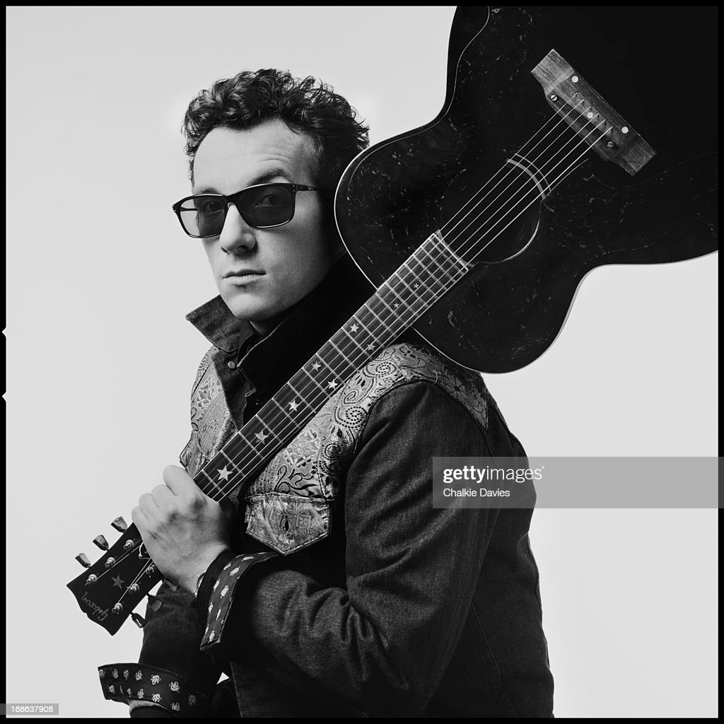 English singer-songwriter Elvis Costello photographed in London, 1986.