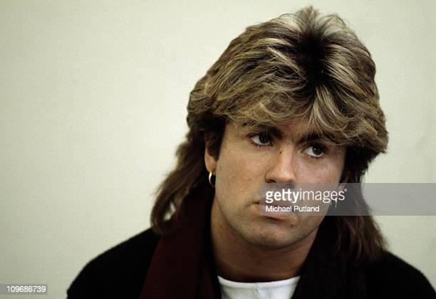 English singer-songwriter George Michael of Wham! in Japan, 1985.