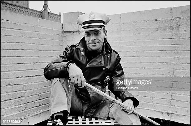 English singersongwriter Ian Dury on the roof of the Gramercy Park Hotel in New York 1978