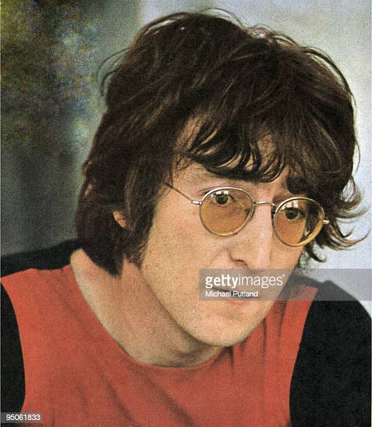 English singersongwriter John Lennon July 1971