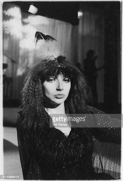 English singersongwriter Kate Bush circa 1979