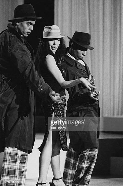 English singersongwriter Kate Bush performing on stage circa 1979