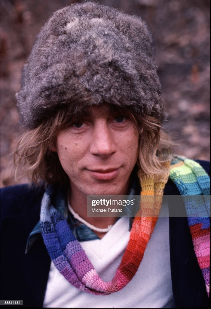 English singer-songwriter Kevin Ayers (1944 - 2013) in Central Park, New York City, February 1977.