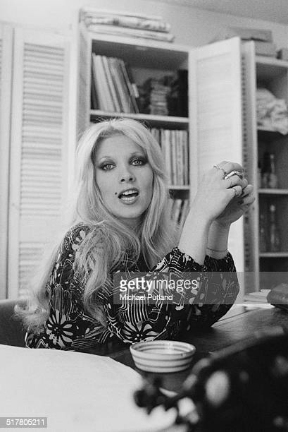 English singersongwriter Lynsey de Paul 15th May 1974