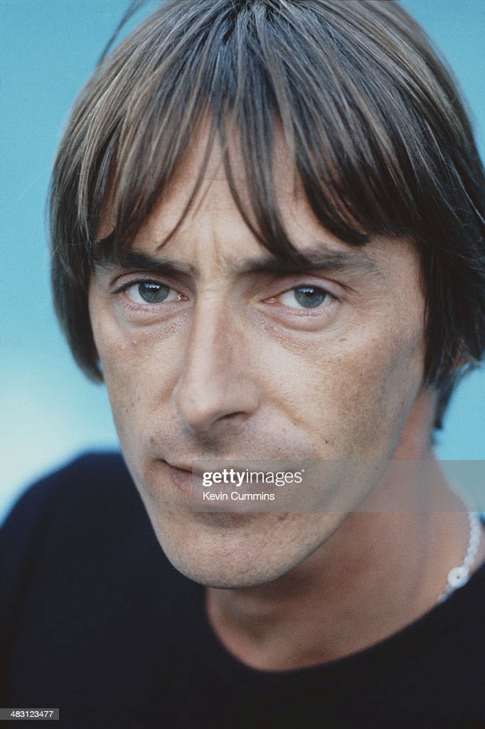 English singer-songwriter Paul Weller, August 1993