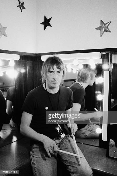 English singersongwriter Paul Weller backstage Glasgow November 1995