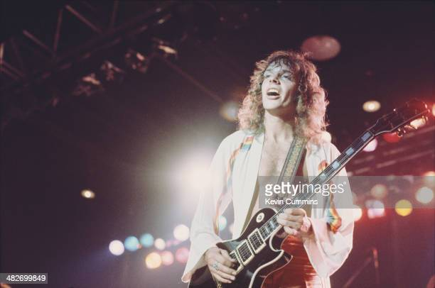 English singersongwriter Peter Frampton performing at Belle Vue Manchester on his 'Frampton Comes Alive' tour 24th October 1976