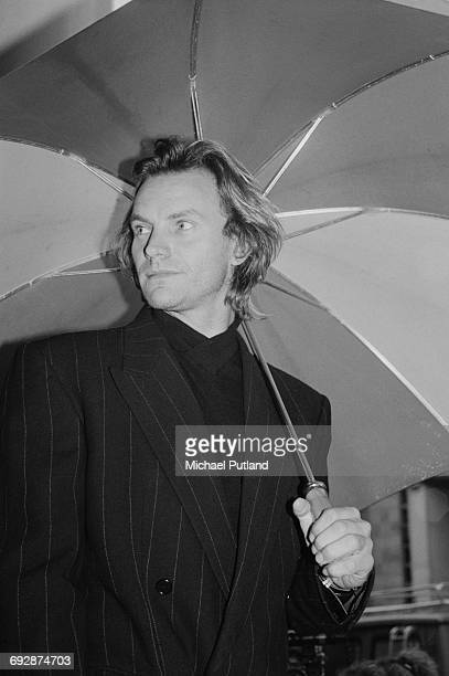 English singersongwriter Sting 1987