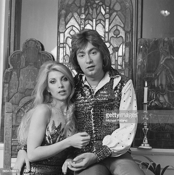 English singersongwriters Lynsey de Paul and Barry Blue 12th November 1975 The pair are collaborating on a single 'Happy Christmas To You From Me'