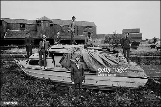 English ska revival band The Specials photographed in the Coventry basin in 1979 This image was used on their second 'More Specials' Left to right...
