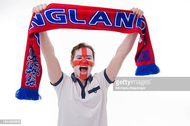 English soccer fan