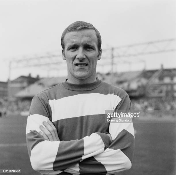 English soccer player Allan Harris of Queens Park Rangers FC UK 19th August 1968