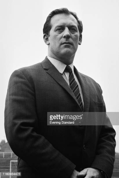 English soccer player and manager Basil Hayward , manager of Gillingham FC, UK, 9th February 1970.
