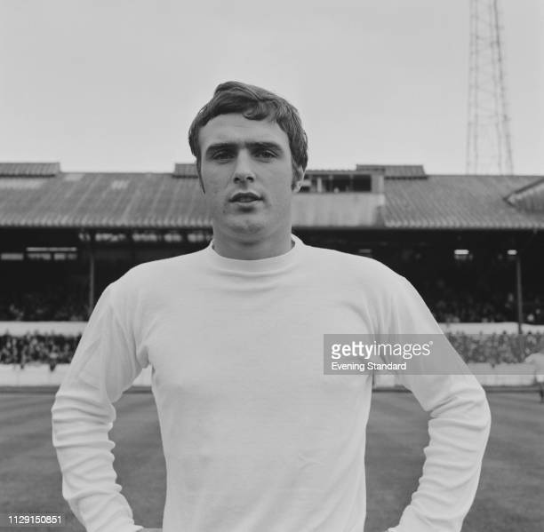 English soccer player and midfielder Ian Collard of West Bromwich Albion FC, UK, 21st August 1968.