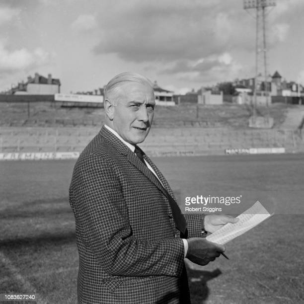 English soccer player Arthur Rowe , assistant manager of Crystal Palace FC, UK, 21st August 1963.