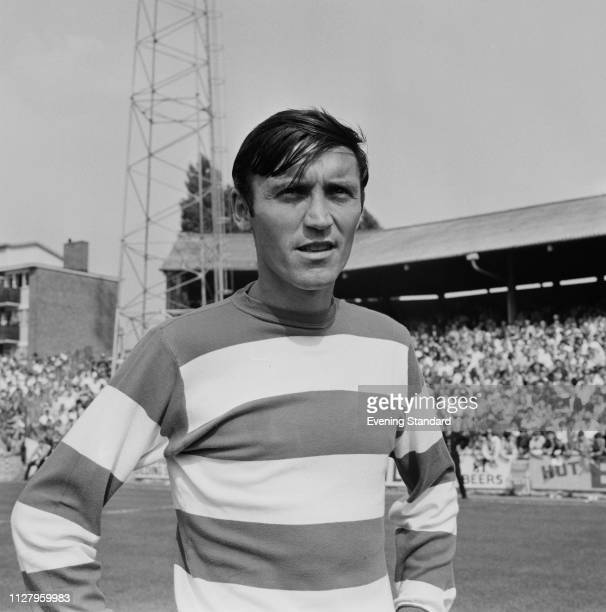 English soccer player Barry Bridges of Queens Park Rangers FC UK 28th August 1968