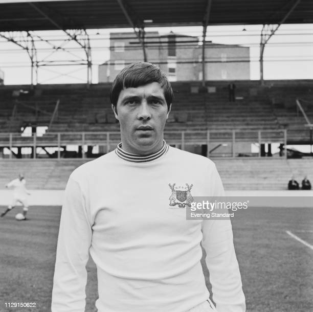 English soccer player Barry Lyons of Nottingham Forest FC, UK, 23rd August 1968.
