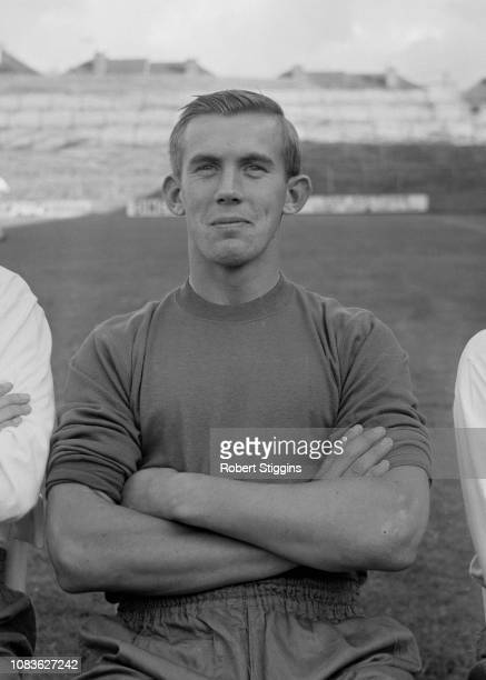 English soccer player Bill Glazier of Crystal Palace FC, London, UK, 21st August 1963.