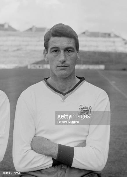 English soccer player Cliff Holton of Crystal Palace FC, UK, 21st August 1963.