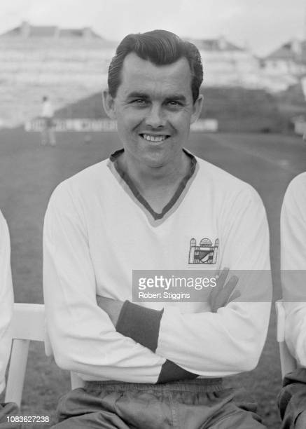 English soccer player Dickie Dowsett of Crystal Palace FC, London, UK, 21st August 1963.