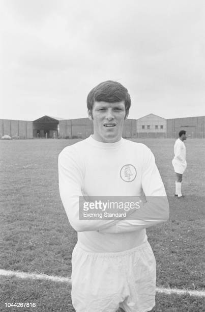 English soccer player Eddie Gray of Leeds United FC UK 2nd August 1968