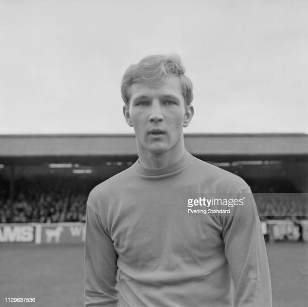 English soccer player Jack Whitham of Sheffield Wednesday FC UK 7th November 1968
