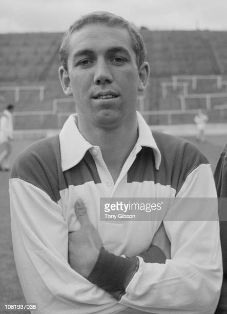 English soccer player Marvin Hinton of Charlton Athletic FC UK 14th August 1963