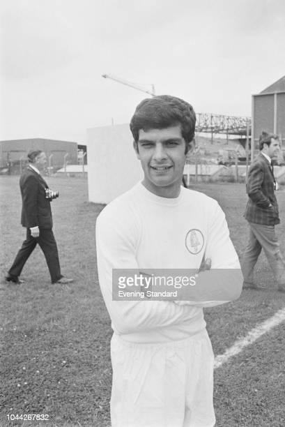 English soccer player Mick Bates of Leeds United FC UK 2nd August 1968