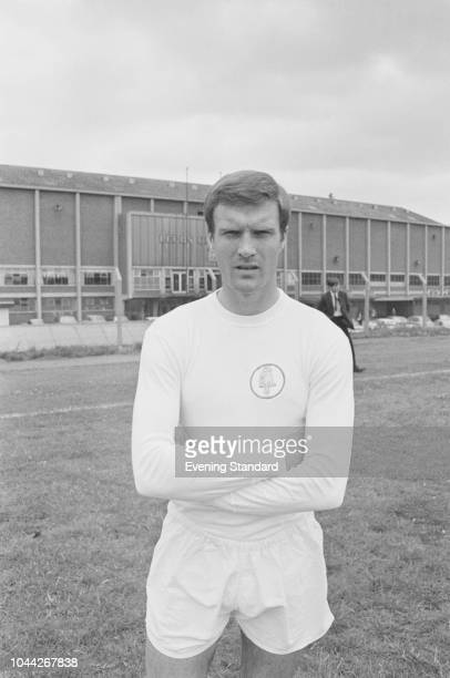 English soccer player Paul Madeley of Leeds United FC UK 2nd August 1968