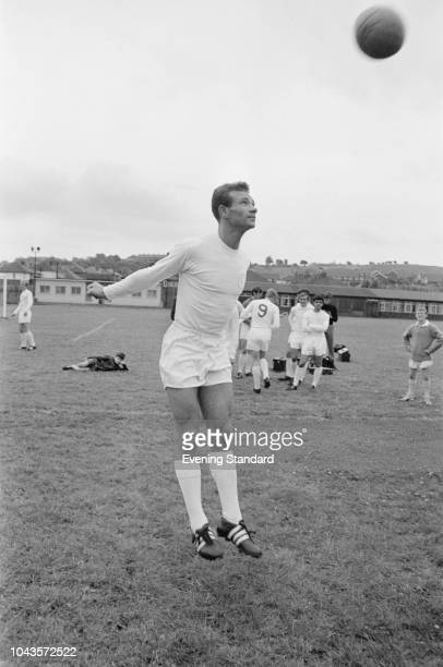 English soccer player Paul Reaney of Leeds United FC UK 2nd August 1968