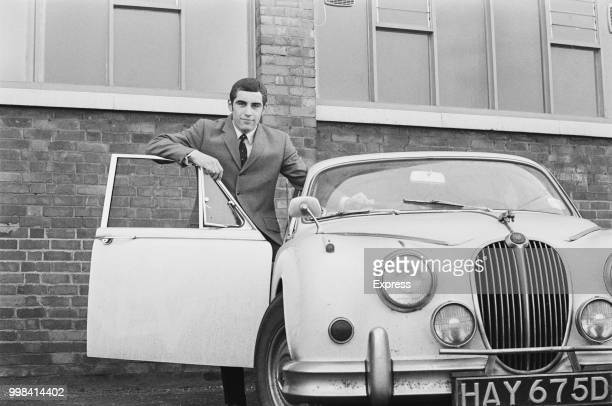 English soccer player Peter Shilton of Leicester City FC UK 23rd April 1969
