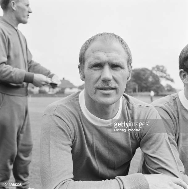 English soccer player Ray Wilson of Everton FC, UK, 1st August 1968.