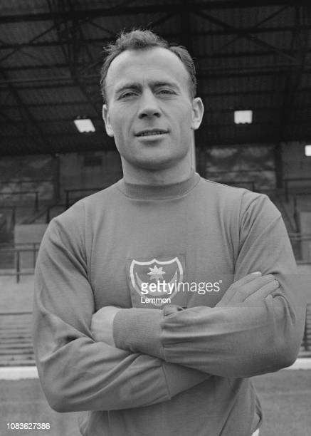 English soccer player Ron Saunders of Portsmouth FC, UK, 23rd August 1963.