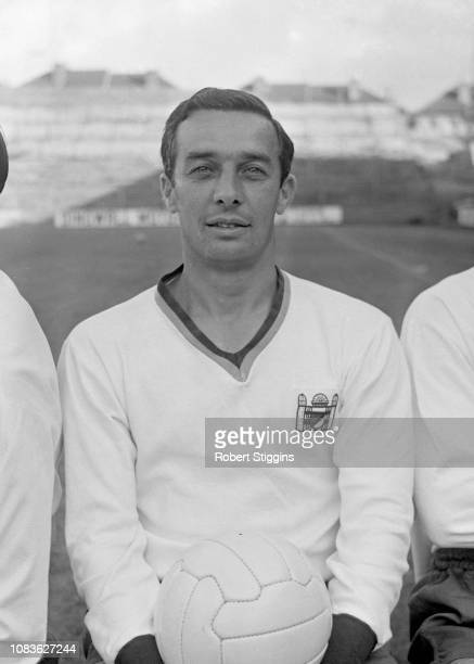 English soccer player Ronnie Allen of Crystal Palace FC, London, UK, 21st August 1963.