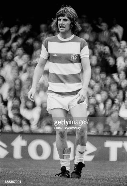 English soccer player Stan Bowles of Queens Park Rangers FC, UK, 23rd September 1975.