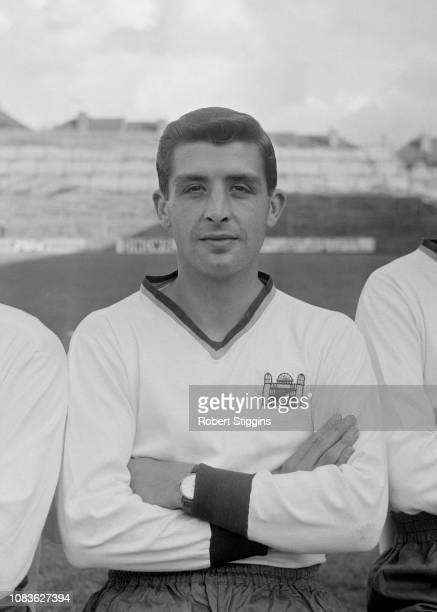 English soccer player Terry Long of Crystal Palace FC, London, UK, 21st August 1963.