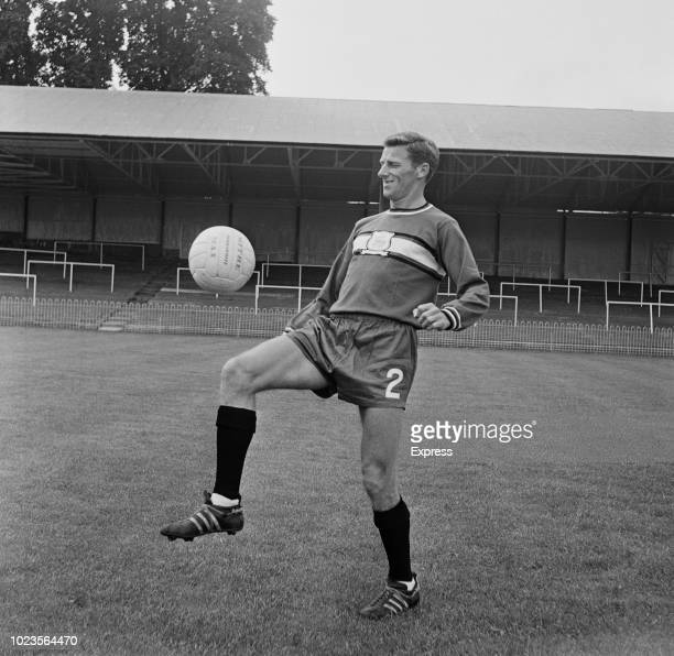 English soccer player Tony Book of Plymouth Argyle FC UK 12th August 1965