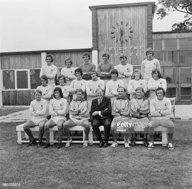 English soccer team Coventry City FC group photo UK 1st February 1973